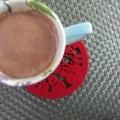 バレンタインに♥バターチョコココア
