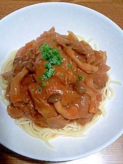 スパゲティ・ハヤシソース