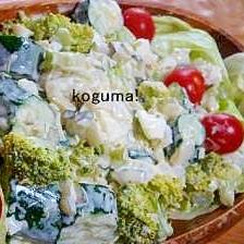 栄養満点!新たまねぎとブロッコリーのタルタルサラダ