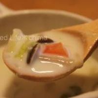 キノコと白菜のクリームオニオンポタージュ