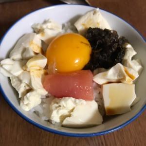 豆腐海苔丼