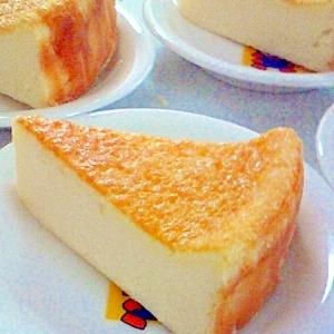 簡単♪まぜるだけチーズケーキ