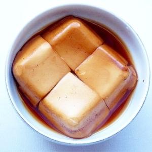 豆腐のコーラ煮