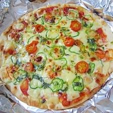 市販のピザにひと手間!絶品マルゲリータ★