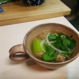 タイ風☆キュウリのスープ