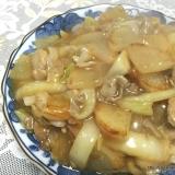フライパン1つで簡単☆大根と白菜のうま煮