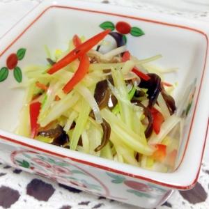 中華風のセロリーサラダ