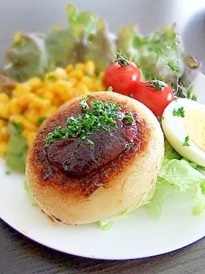 お弁当にも★カリッと食感のチーズポテトバーグ