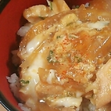 トロトロ♪鶏ささみの親子丼