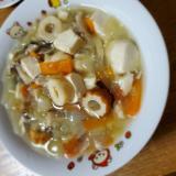 冷蔵庫整理~豆腐の和風餡
