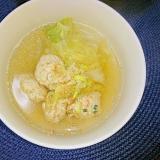 白菜たっぷりスープ