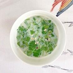 三十雑穀で作る、スープ