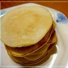 朝食に!いちから作る簡単ホットケーキ
