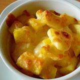「リンゴとさつま芋のマヨチーズ焼き」   ♪♪
