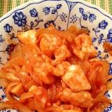 ご飯が進む!鶏胸肉と玉ねぎのケチャップ炒め