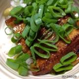 絶品‼  簡単‼  穴子丼