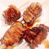 絶品♪まるでお肉なナスと豚肉のミルフィーユ焼き