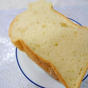 HBでふわふわ食パン
