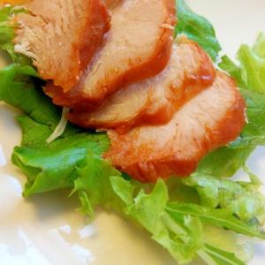 簡単♪おつまみ♪タンドリーチキンのせグリーンサラダ