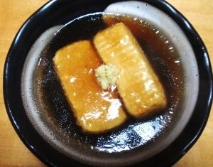 麺つゆで、簡単揚げだし豆腐☆