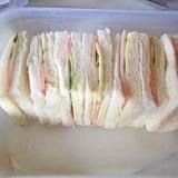 運動会に サンドイッチ