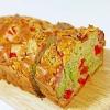 パンケーキミックスで簡単★野菜たっぷりケーク・サレ