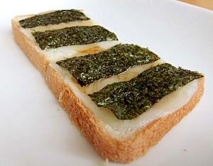 しょうゆ海苔餅トースト