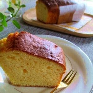 パウンドケーキでおもてなし