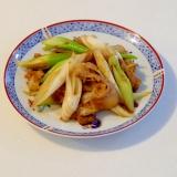 豚肉と長ネギの簡単中華風味噌炒め