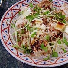 豆腐とチーズのおかかサラダ(低カロリー高たんぱく)