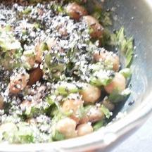 セロリの葉納豆