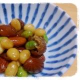 電子レンジにお任せ★冷凍ミックスビーンズの煮豆
