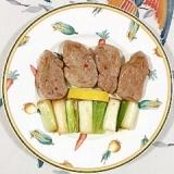 豚ヒレ肉と長葱の炒め物
