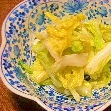 旨ーーーい白菜の半日漬け