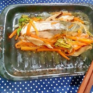 【糖質制限】直火プレートで楽チンぶりの野菜あんかけ