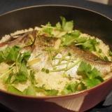 STAUBで作る鯛飯