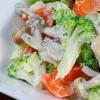 秋の温野菜サラダ