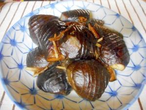 甘辛ナスの生姜煮