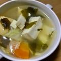 時短お味噌汁☆豆腐・長ネギ・油揚げ・わかめ
