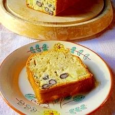 さつまいもと黒豆のパウンドケーキ