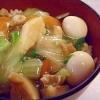 熱々のあんで野菜をコーティング☆「中華丼」献立