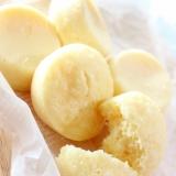 バナナ味の豆乳で♪簡単ふわもちバナナ蒸しパン