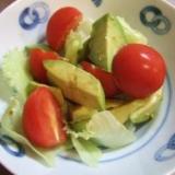3分以内にできる 簡単 アボカドのサラダ
