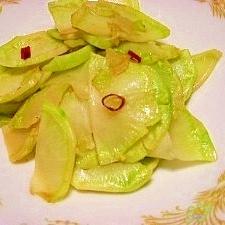 ブロッコリーの茎を食べる!ザーサイ風っぽいかなぁ?