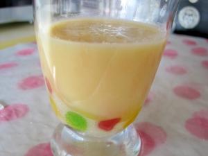 フルーツ缶で簡単フルーツジュース