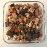 根菜類と豆の煮物