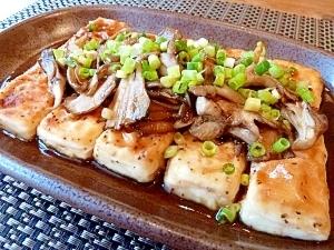 美味しいよ♪豆腐のバタポンステーキ