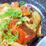 ご飯が進む★鮭のバターポン酢焼き