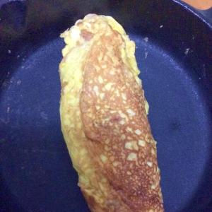 ハムマヨ卵焼き