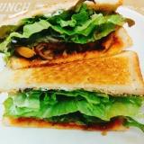 朝食ランチに☆ミートボールのサンドイッチ